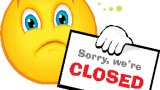 sorry we_re closed