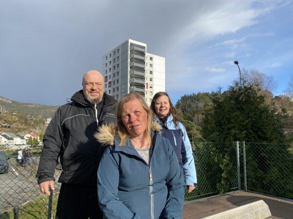 Valgkomiteen består av André Glenhjen, Siw Stefansen og komite-leder Kate Imsland (foran)